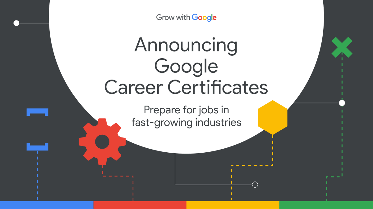 The Google Career Certificate and the new job market